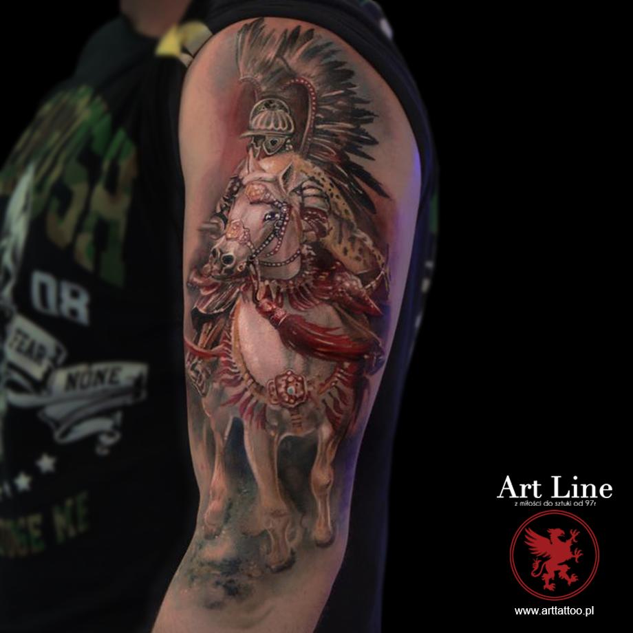 Dominik Galeria Tatuaży Art Line