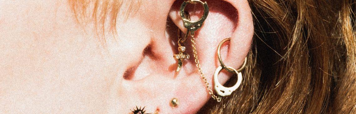 Ciekawe pomysły na kolczyk w uchu